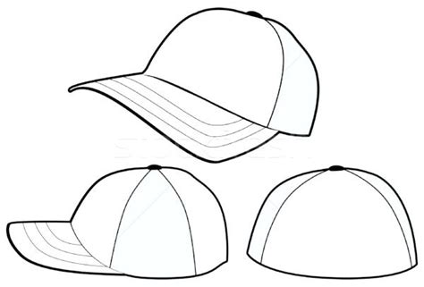 Free Printable Baseball Cap Template Caps For Sale Hat Revolvedesign Cap Design Template