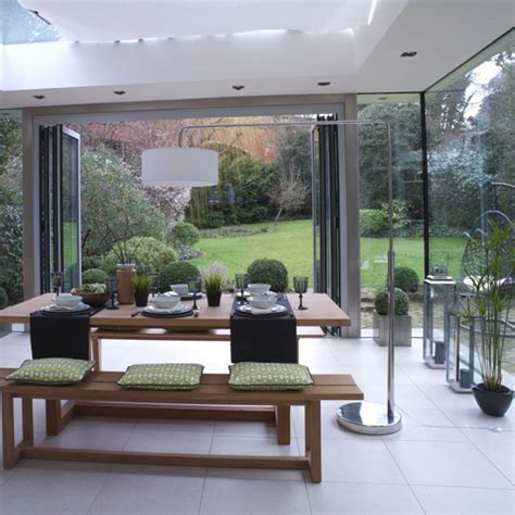 Dining Room Folding Doors 5 Country Rooms With Beautiful Bi Folding Doors Ideal Home