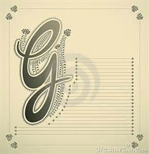 Fancy letter g ornamental letter g 8025822 jpg