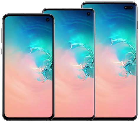 Samsung Galaxy S10 Vs S 10 Plus by Samsung Galaxy S10e Vs S10 Vs S10 Plus Spec Price Comparison