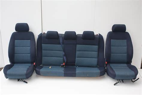 Audi A4 B5 Fahrersitz by Audi A4 B5 Avant Innenausstattung Stoff Blau Komplett