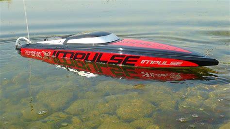 rc boat impulse rc adventures impulse 31 6s power radio control deep