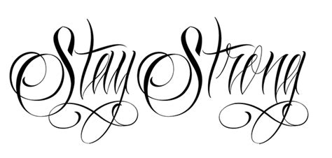 stay strong tee on behance