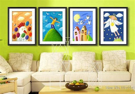 painting for kids room decorative painting kids room wall art picture snow white