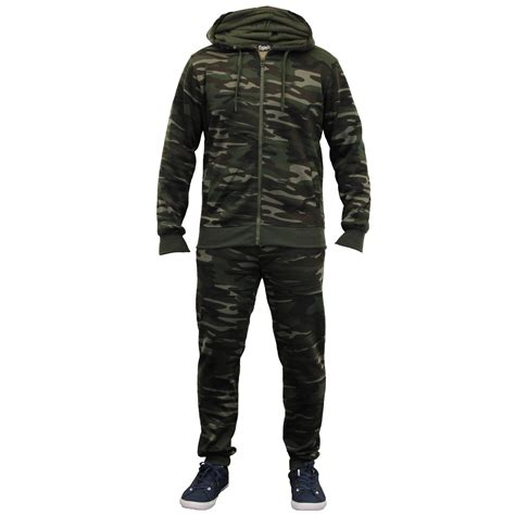 Camouflage Hooded Top mens camouflage tracksuits army hooded top