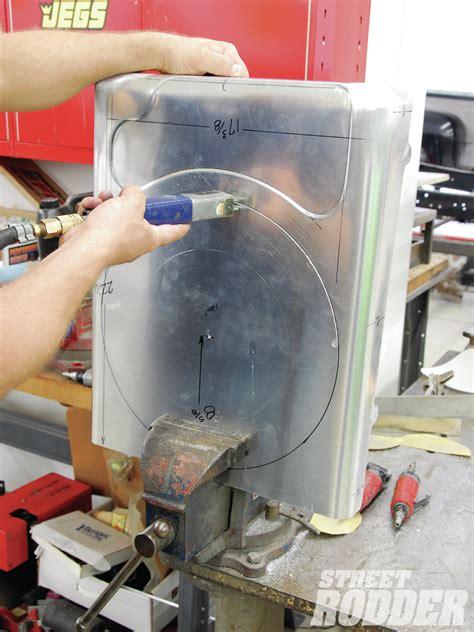aluminum fan shroud fabrication fabricating a custom aluminum fan shroud rod