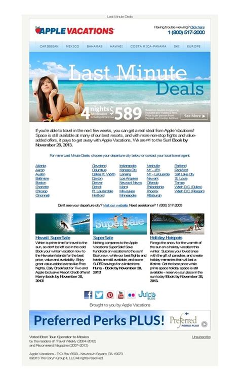 apple vacations last minute deals all inclusive w airfare taxes 4 nights from 589