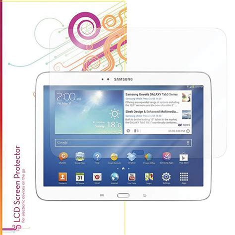 Galaxy Tab 3 Kw roocase ultra hd plus free screen rc galx10 tab3