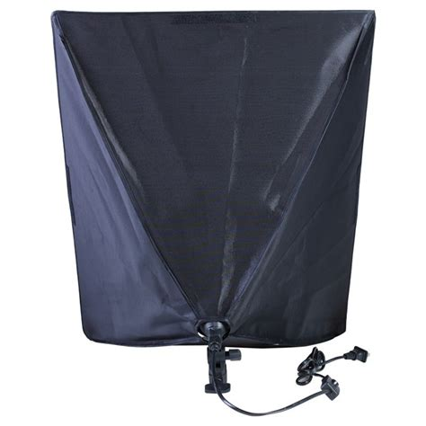 Payung Led payung softbox reflektor 50x70cm e27 single l socket