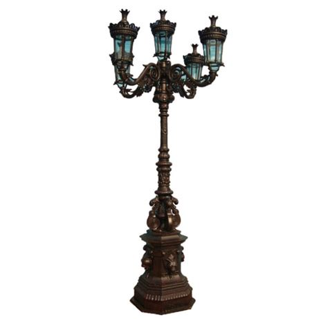 cast iron l post cast iron outdoor lighting cast iron and galvanised steel