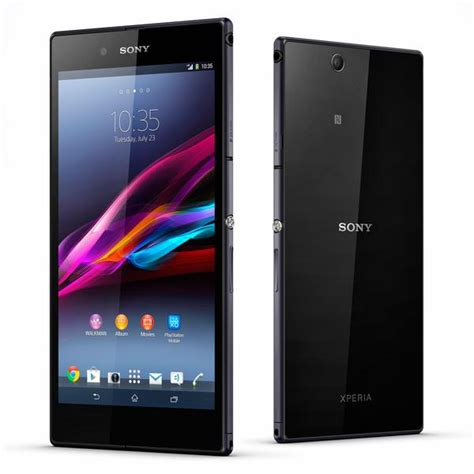 sony android phone sony xperia z ultra android phone announced gadgetsin