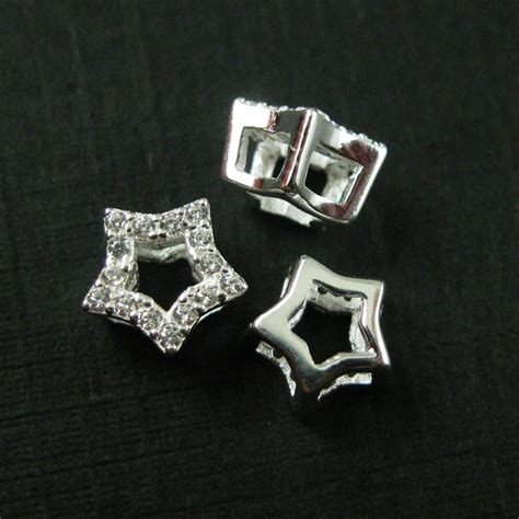 wholesale sterling silver tiny connector charm with