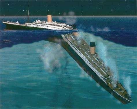 pictures of the titanic sinking the sinking of titanic ultimate titanic