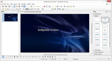 Libreoffice Impress Review Softpedia Libreoffice Presentation Templates
