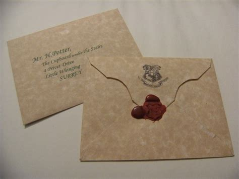 Harry Potter Acceptance Letter Envelope Harry Potter Hogwarts Acceptance Letter By Swishandflickcrafts