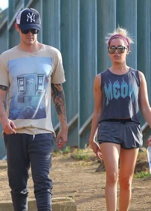 ashley tisdale out for a hike at runyon canyon gotceleb
