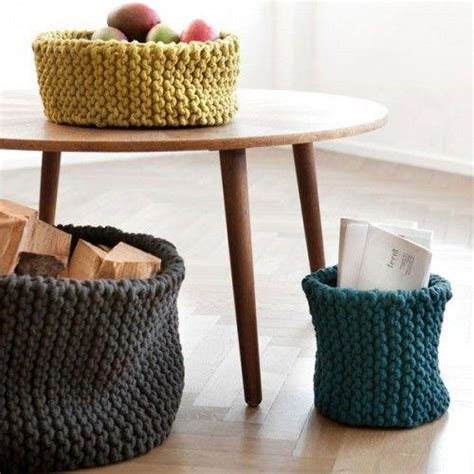 knitting home decor knitting trends adding warm personality to modern interior