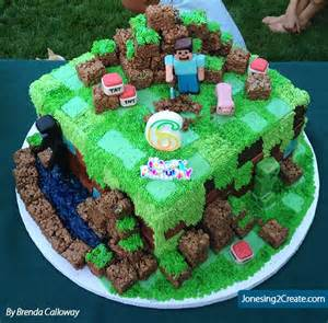 minecraft kuchen minecraft birthday cake jonesing2create