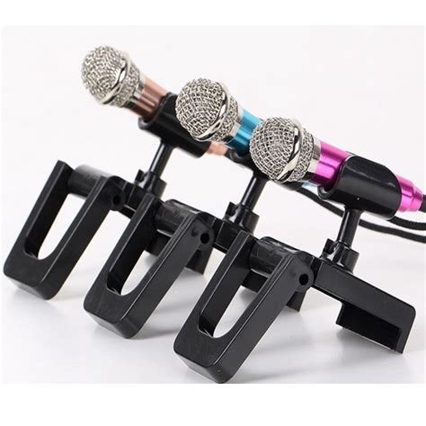 Mini Smartphone 3 5mm Microphone With Mic Stand Pink mini smartphone 3 5mm microphone with mic stand pink jakartanotebook