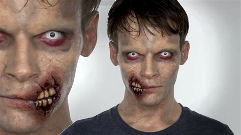 zombie makeup tutorial eyeshadow zombie make up tutorial halloween shonagh scott showme