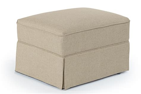 Best Home Furnishings Ottomans 0056 Traditional Glide Traditional Ottoman