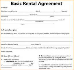 Basic Residential Lease Agreement Template Basic Lease Agreement Template 148555936 Png Manager