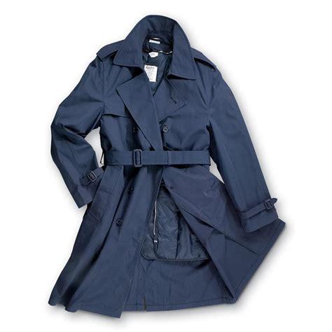 Jo In Raincoat L new u s mil air insulated raincoat navy 96325