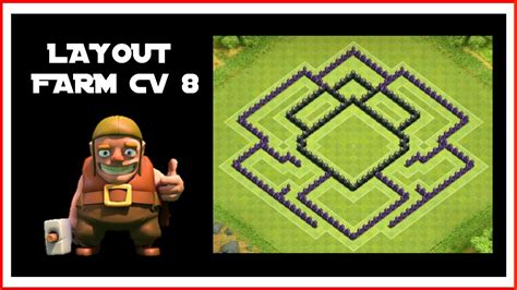 layout cv 8 farming youtube layout farm cv 8 youtube