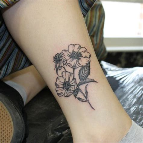 tumblr flower tattoos simple flower search tattoos