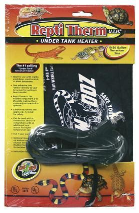 zoo med heat l zoo med mini reptitherm heating pad for sale