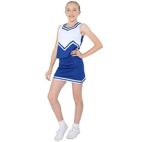 cheerleader cheer uniforms danzcue child m sweetheart cheerleaders uniform set