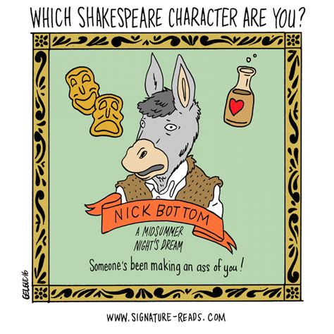 what character are you which shakespeare character are you