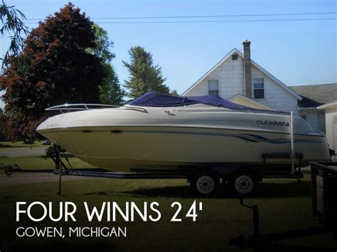 used four winns boats for sale in michigan used power boats cuddy cabin four winns boats for sale in