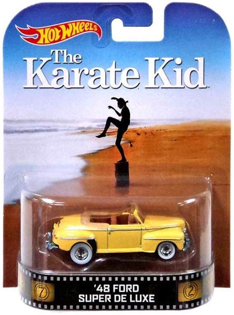 Wheels Retro Ford De Luxe Back To The Future wheels the karate kid wheels retro 48 ford de luxe 155 diecast vehicle mattel toys