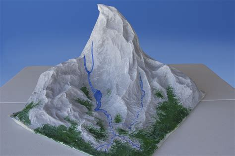 How To Make A 3d Mountain Out Of Paper - how to make a mountain out of paper mache paper mache