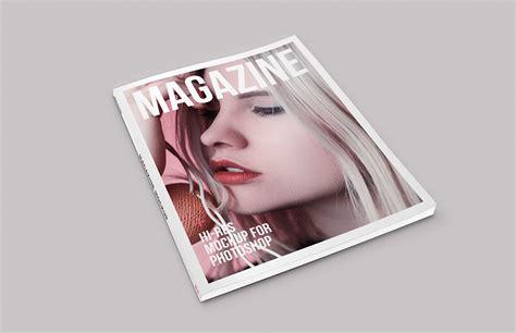 isometric magazine mockup medialoot