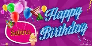 happy birthday sabina free ecards