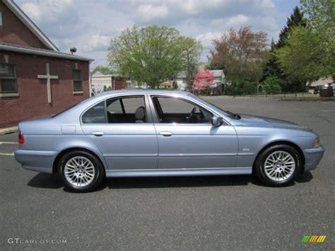 2003 bmw 530i blue water metallic 2003 bmw 5 series 530i sedan exterior