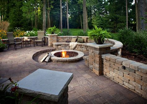 building pit and patio startling backyard paver patio outdoor building ideas elgard pavers and pit