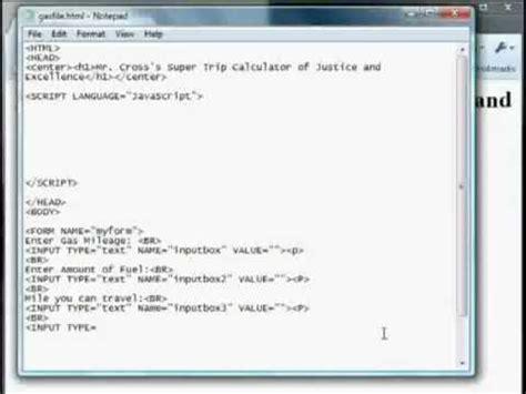 tutorial java calculator simple javascript calculator tutorial doovi