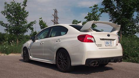 sti subaru white review 2015 subaru wrx sti canadian auto review