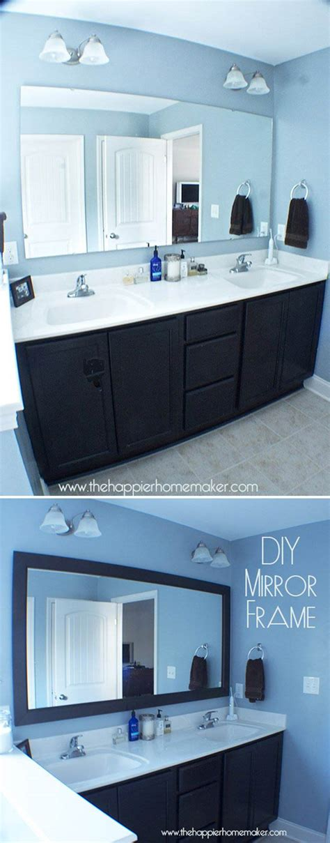 bathroom mirror ideas diy bathroom decorating ideas on a budget diy ready