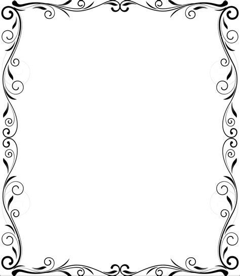 frame design in vector flourish frame vector design royalty free stock image