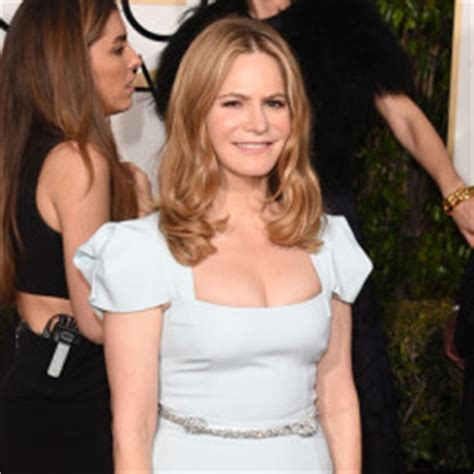 jennifer jason leigh l word 73rd annual golden globes red carpet pictures
