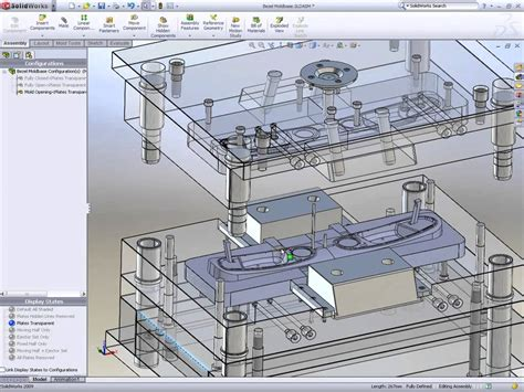 solidworks tutorial mold solidworks mold design doovi