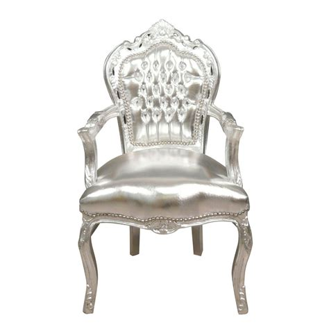 silver armchair baroque armchair silver chairs and tiffany ls