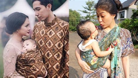 Gendongan Bayi Jarik kembali ke cara ndeso tentang gendongan bayi dari kain