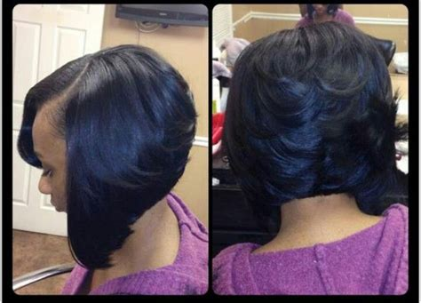 sew in swing bob hairstyle wedding styles on pinterest feathered bob bobs and