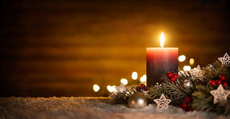 christmas candles stock  pictures royalty