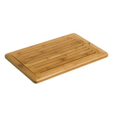 tablas de cortar tabla de cortar pan de bamb 250 para cocina dcasa es